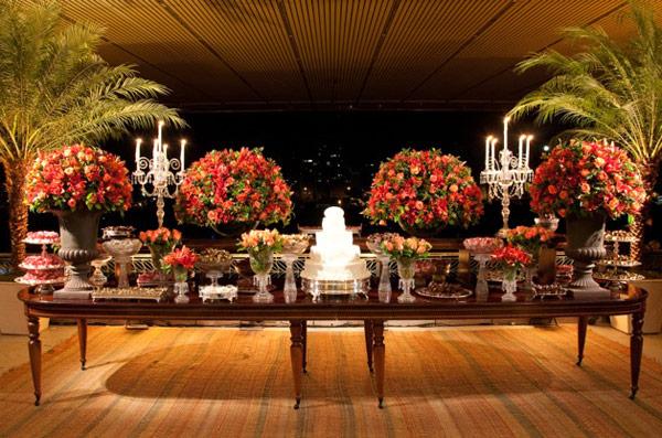 decoracao casamento mesa convidados:Miguel Alcade